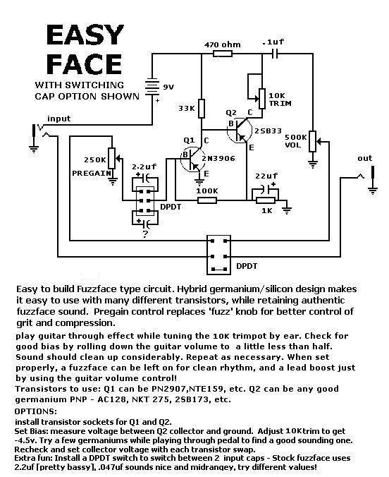 ezface_sw_cap schematics general guitar gadgets fuzz face wiring diagram at gsmx.co