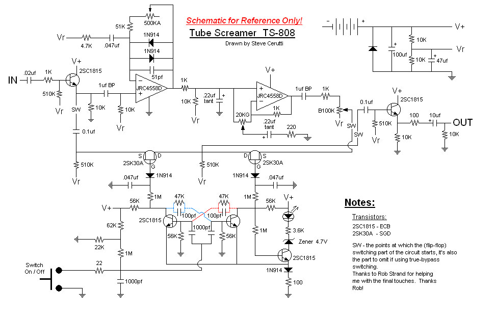 Schematics | General Guitar Gadgets on